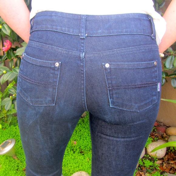 the best attitude c206b 97cbf Patagonia dark blue denim jeans