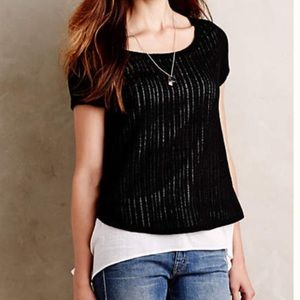 Layered Faria top