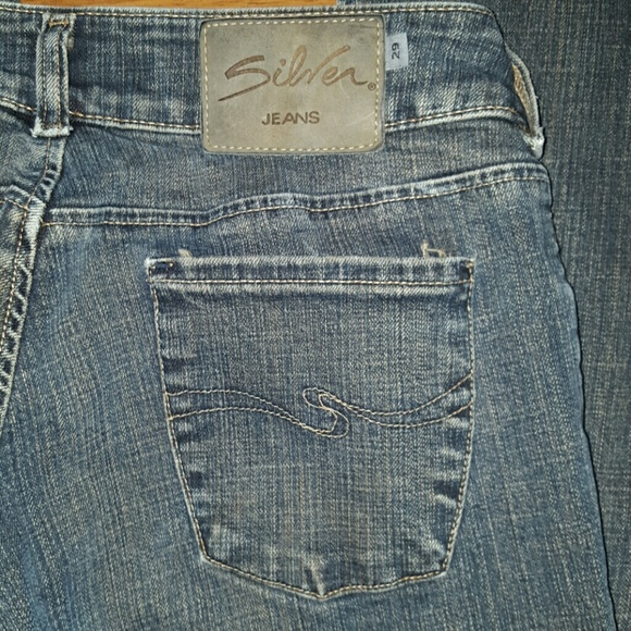 Silver Jeans - Silver Jeans 29 waist length 32. size 7 / 8 from ...