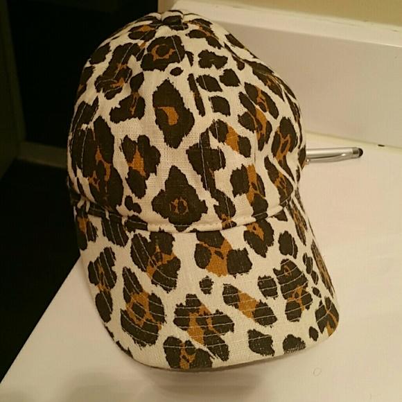j crew Accessories - J crew cheetah print baseball cap 2f3006ab00e