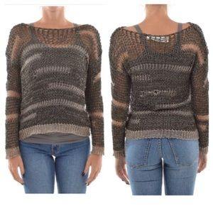 Isabel Benenato Sweaters - Isabel Benenato Deconstructed Knit Pullover 38 XS