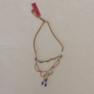 BROKEN BETSEY JOHNSON NECKLACE