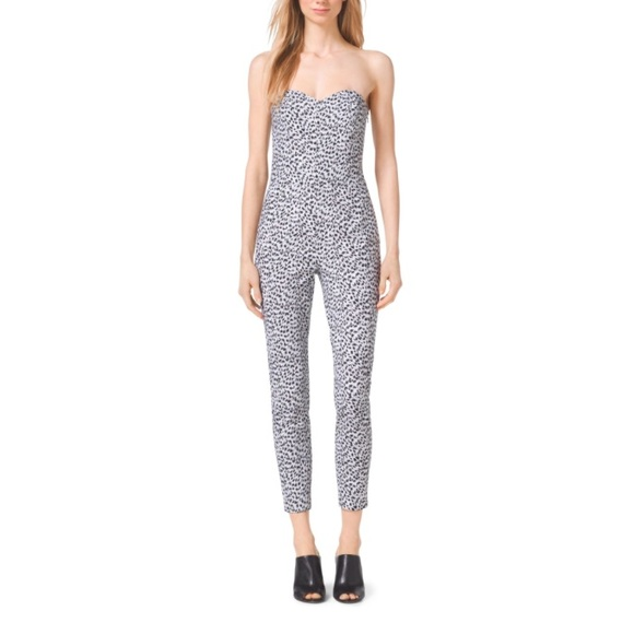 b0b00ac07364 Black and White MK jumpsuit!
