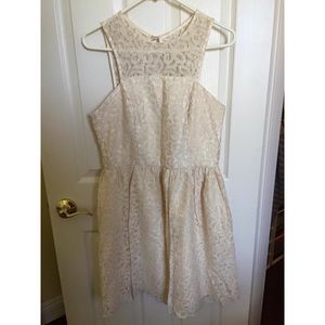 The Limited white lace dress