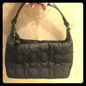 Coach signature hamptons weekend handbag