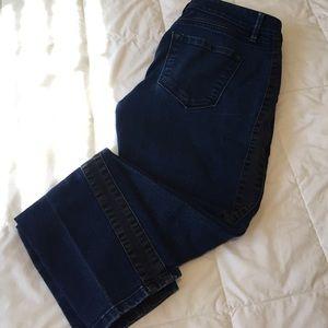 LOFT Denim - LOFT curvy skinny blue jeans