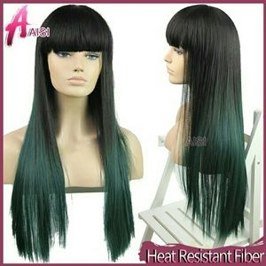 Accessories - 2 toned china bang wig