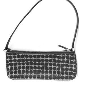 Kate Spade Classic Signature Fabric B&W Bag