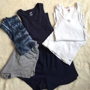 Soffe Pants - Soffe Bundle Tanks and Shorts