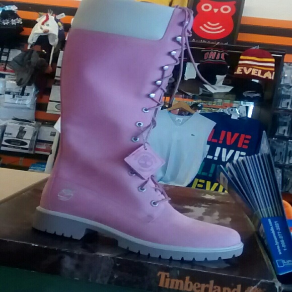 444a69a6ab018 Timberland Shoes | Bubble Gum Pink Boots | Poshmark