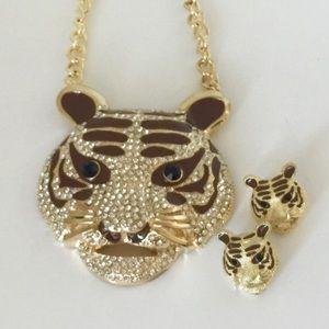 Jewelry - NEW Huge Feline Statement Necklace