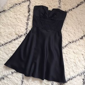 White House Black Market Dresses & Skirts - White House Black Market Strapless Black Dress