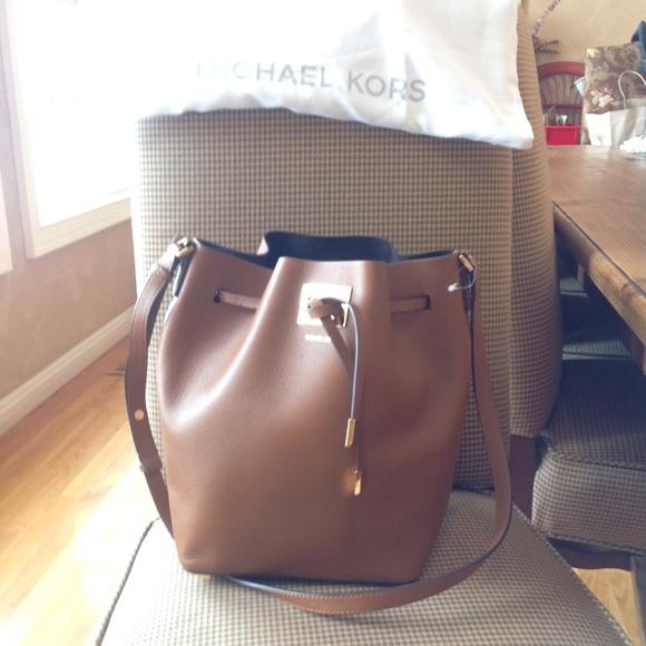 114c6831c4ad ... SOLD MichaelKors(Collection)Miranda Bucket Bag NWT ...