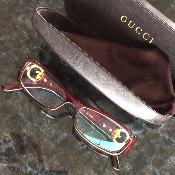d7b46f2989cb1 Gucci Accessories - GUCCI EYEGLASSES With Case 💯% Authentic❗️