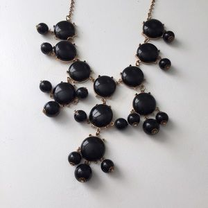 J. Crew Jewelry - J. Crew-style Black Bubble Necklace