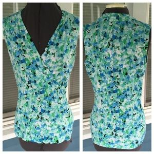 Charter Club Tops - CHARTER CLUB Floral Sleeveless Top