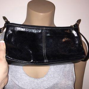 SALE Giani Bernini Leather Small Black Purse