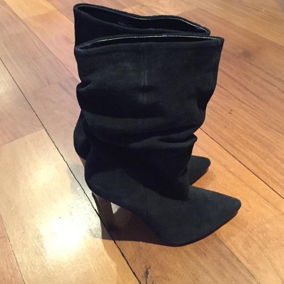 ALDO Shoes - Black suede ALDO mid calf boots