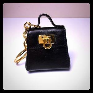 Authentic Salvatore Ferragamo key chain coin purse