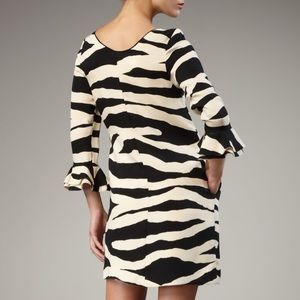 9406f6da3f kate spade Dresses - Kate Spade andora zebra print silk shift dress!