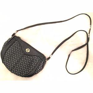 Vintage Handbags - VINTAGE MONOGRAM MINI CROSS BODY BAG!