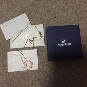 Swarovski bolt pendant