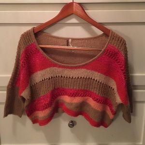 Free People Tops - Free People Crop Top Sweater
