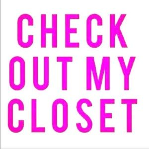 Check out my closet! Need to move--need to sell!