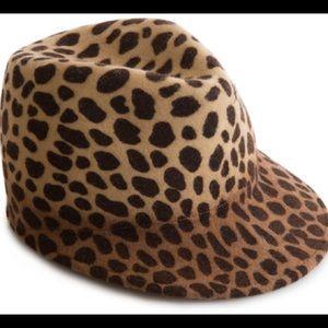 Eugenia Kim Felt Leopard Hat