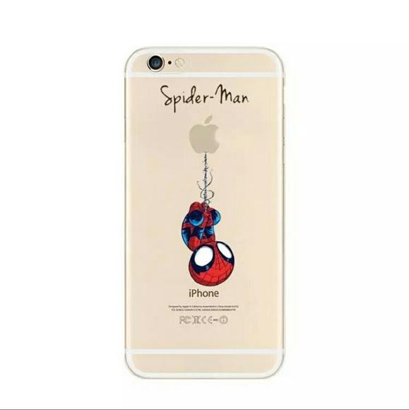 coque iphone 6 spider man
