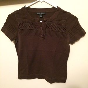 Banana Republic - short sleeve sweater