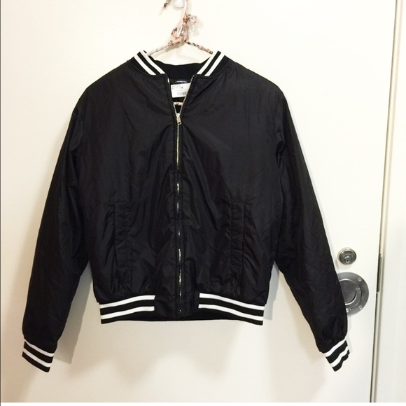 Brandy Melville - ❌SOLD❌ NWT Plain Liz Bomber Jacket from ...