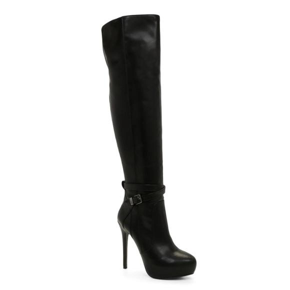high knee boots aldo