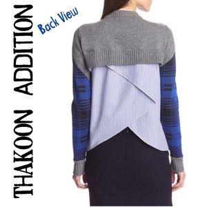Thakoon Sweaters - LOOK AT THE BACK! Thakoon Addition multi media
