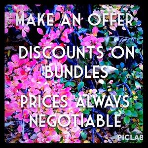 I accept most reasonable offers 😊👍!