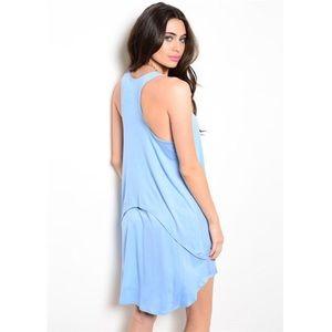 Dresses & Skirts - *CLEARANCE* new casual light blue tank dress