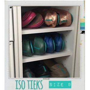 ISO Tieks size 9