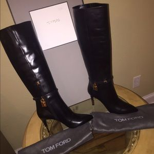Tom Ford Shoes - Tom Ford Locket Boots
