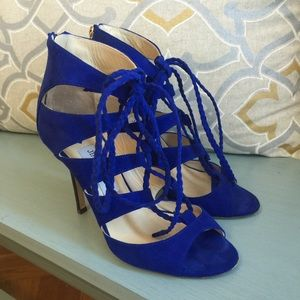 Authentic Jimmy Choo Lace Up Sandals
