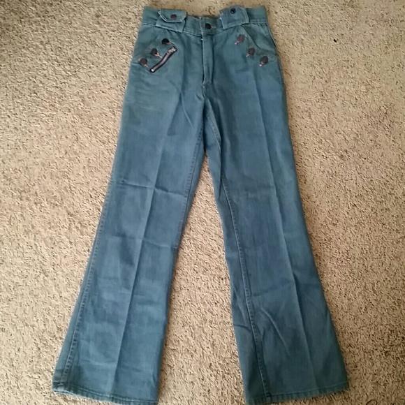 e685701e Vintage Jeans | One Of A Kind Denim Bellbottom | Poshmark