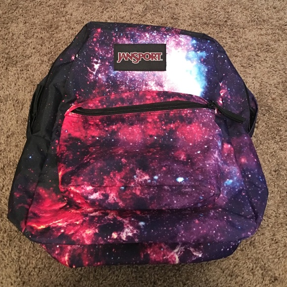64% off Jansport Handbags - 🎀JANSPORT🎀 Galaxy backpack from ...