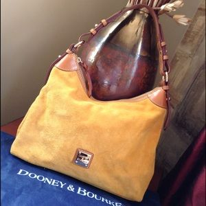 Gorgeous Dooney & Bourke Suede Hobo