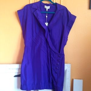 Tracy Reese Dresses & Skirts - NWT Violet Silk Tunic Minidress by Tracy Reese