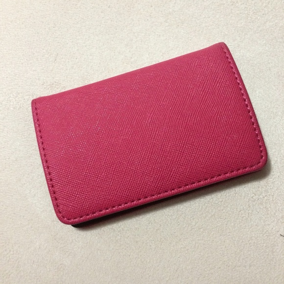 Francescas collections accessories francescas pink business card francescas pink business card holder colourmoves