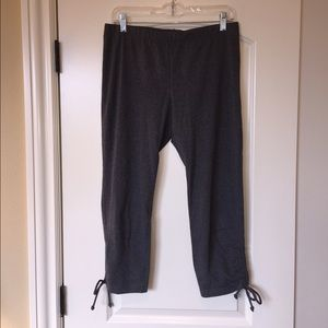NWOT Cropped workout pants
