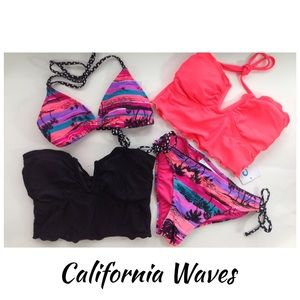 California Waves Other - NEW CALIFORNIA WAVES 4 of seperates corset triangl