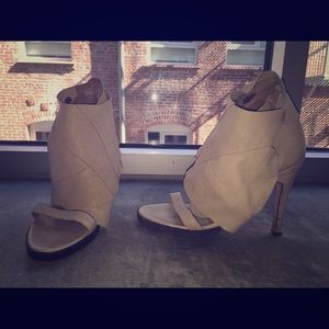 LD Tuttle Nude Sandal Booties