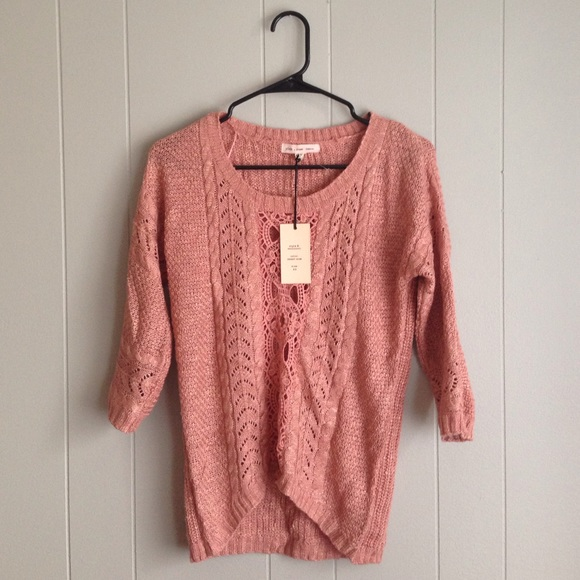 67% off Pink Rose Sweaters - NWT Pink Rose brand sweater from ...
