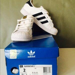 Adidas Superstar Barn Størrelse 2 GO2IPj6e