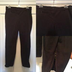 J. Crew Minnie Charcoal Equestrian Pants